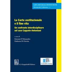 corte costituzionale e il fine vita (la).