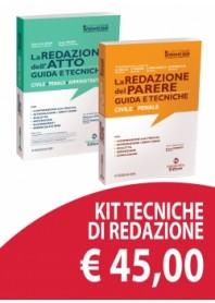 Offerta Redazione dell'Atto e Redazione del Parere Kit di De Gioia, Grassi, Giglia, Marino, Parlagreco, Spinoccia