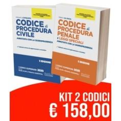 Offerte 2 Codici NELDIRITTO Commentati Esame Avvocato 2020 CPC + CPP di De Gioia, Lombardi