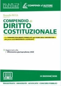 COMPENDIO DI DIRITTO COSTITUZIONALE 2020