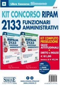 Concorso RIPAM 2133 Funzionari Amministrativi Prova Preselettiva KIT