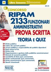 Concorso RIPAM 2133 Funzionari Amministrativi Prova Scritta