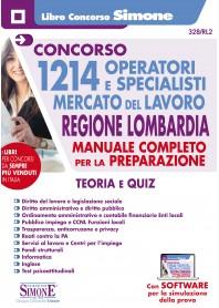Concorso 1214 Operatori e Specialisti Mercato del Lavoro Regione Lombardia Manuale