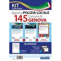 Concorso 145 Agenti Polizia Locale Comune di Genova Kit