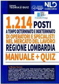 regione lombardia - 1214 operatori e specialisti mercato del lavoro.