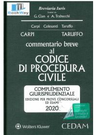commentario breve al codice di procedura civile 2020 -
