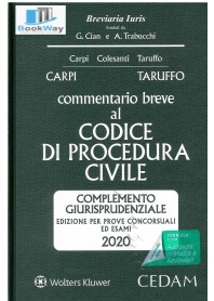commentario breve al codice di procedura civile 2020 -