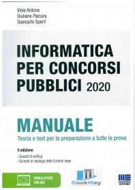informatica per i concorsi pubblici 2020