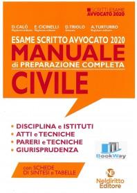 esame scritto avvocato 2020 manuale - civile