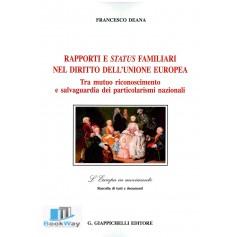 rapporti e status familiari nel diritto dell'unione europea