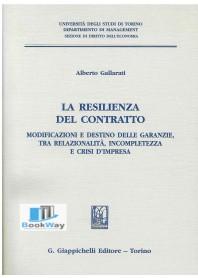 RESILIENZA DEL CONTRATTO (LA)