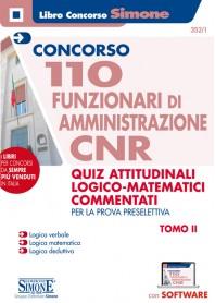 Concorso CNR 110 Funzionari di Amministrazione Quiz di Logica Commentati Tomo II