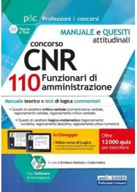 Concorso CNR 110 Funzionari di Amministrazione Manuale e Test Attitudinali di Barbuto, Iodice