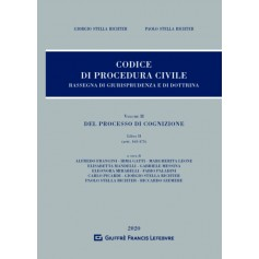 Codice di Procedura Civile Rassegna di Giurisprudenza e di Dottrina Vol II Libro II di Stella Richter