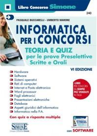 Informatica per i Concorsi di Buccarelli, Marone