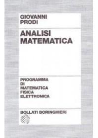 Analisi Matematica di Prodi
