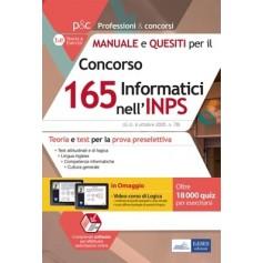 Concorso 165 Informatici INPS Manuale e Quesiti Preselezione