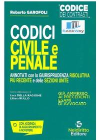 codici civile e penale 2020 - codici dei contrasti - rassegna