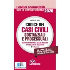 codice dei casi civili sostanziali e processuali 2020 commentati