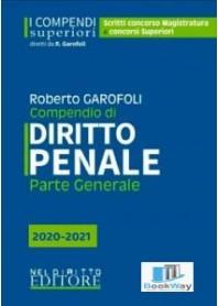 compendio di diritto penale parte generale - 2020-2021