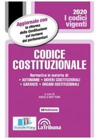 codice costituzionale 2020 - vigenti