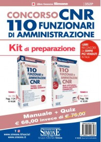 Concorso CNR 110 Funzionari di Amministrazione Kit