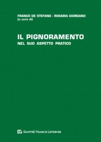 Pignoramento di De Stefano, Giordano