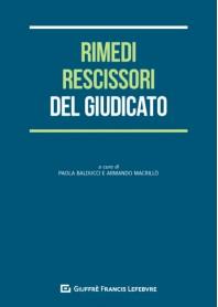 Rimedi Rescissori del Giudicato di Balducci, Macrillo'