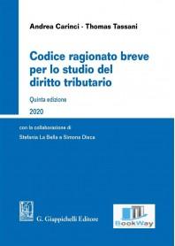 codice ragionato breve per lo studio del diritto tributario 2020