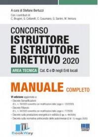 concorso istruttore e istruttore direttivo 2020
