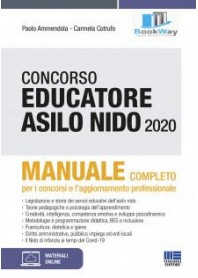 concorso educatore asilo nido 2020. manuale