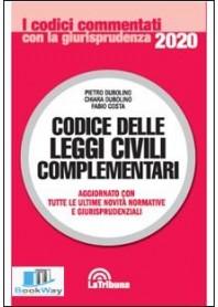 codice delle leggi civili complementari commentati 2020