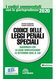 codice delle leggi penali speciali commentati 2020