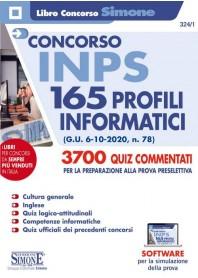 Concorso INPS 165 Profili Informatici 3700 Quiz Commentati Prova Preselettiva