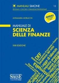 Manuale di Scienza delle Finanze di Morlacchi