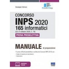 concorso inps 2020 165 informatici