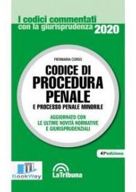 codice di procedura penale 2020 commentati