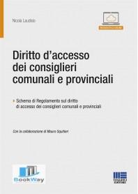 diritto d'accesso dei consiglieri comunali e provinciali