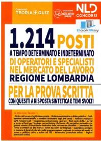 regione lombardia - 1214 operatori e specialisti mercato del lavoro