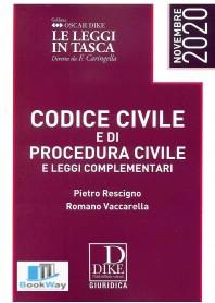 codice civile e codice di procedura civile e leggi complementari pocket