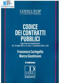 codice dei contratti pubblici 2020-2021