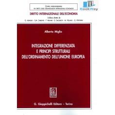 intergazione differenziata e principi strutturali dell ordinamento dell unione europea