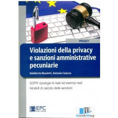 violazioni dellapravacy e sanzioni amministrative pecuniarie