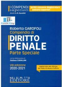 compendio superiore di diritto penale parte speciale 2020-2021 -  aggiornato alle ultime novita' legislative 2020