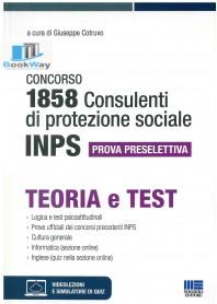 1858 inps consulenti di protezione sociale teoria e test