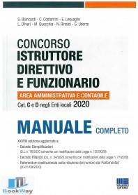 istruttore direttivo e funzionario categoria c e d manuale