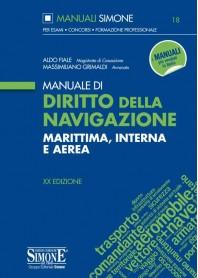 Manuale di Diritto della Navigazione di Fiale, Grimaldi