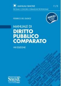 Manuale Di Diritto Pubblico Comparato di Federico del Giudice