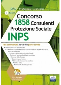 Concorso INPS 1858 Consulenti Protezione Sociale Quesiti a Risposta Multipla Commentati
