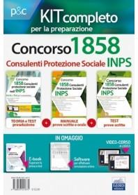 Concorso INPS 1858 Consulenti Protezione Sociale Kit